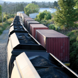 Image of a freight train large